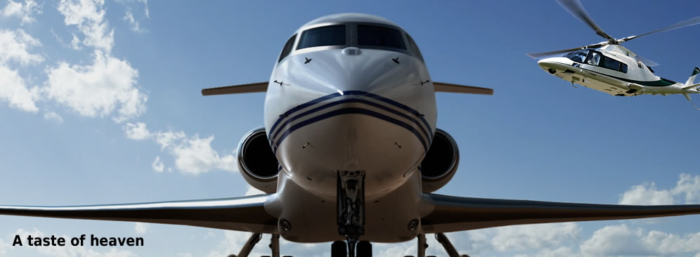 Private Jet and Helicopter Charter